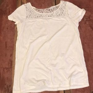 J crew small lace top